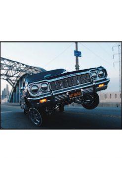 Hydraulic Lowrider In L.A