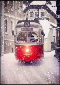 Snowy Tram