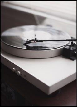White Vinyl Player