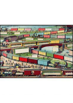 Trains Illustration