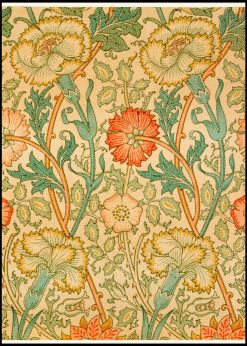 Pink And Rose by William Morris