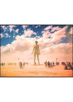 Statue In The Desert