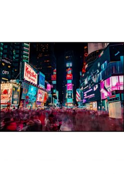 Night At Time Square