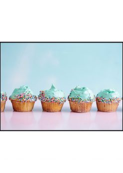 Muffins With Sprinkles