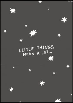 Little Things Means A Lot