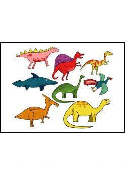 Colorful Dinosaur