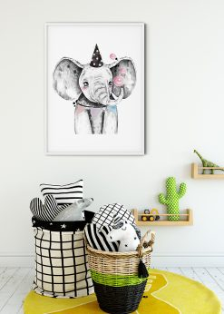 Cute Party Elephant