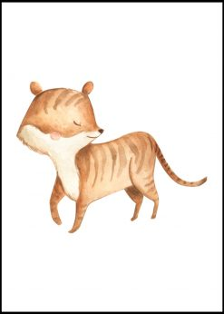 Cute Tiger Painting