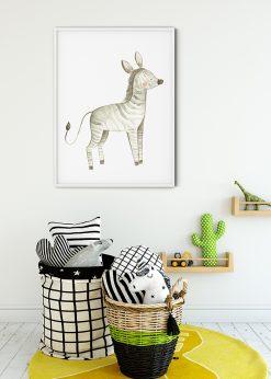 Cute Baby Zebra Blushes