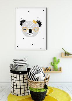 Grandma Bear Painting