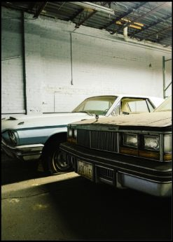 Old Dusty Cars Front