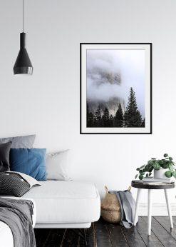 Foggy Mountain Wall