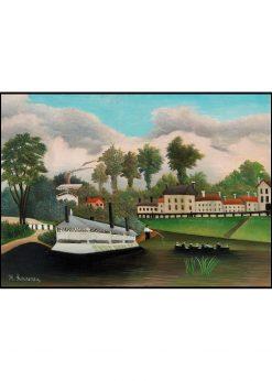 The Laundry Boat of Pont de Charenton