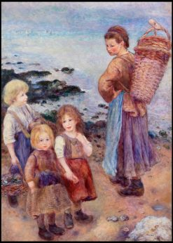 Mussel-Fishers at Berneval