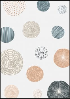Round Patterned Doodle