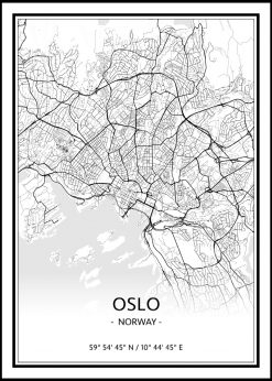Map of Oslo nr.1