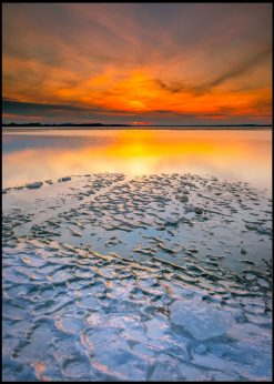 Lake Evening Light
