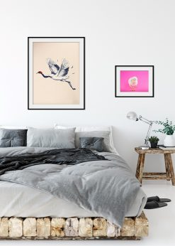Japanese Crane Illustration №2