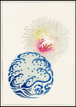 Japanese Nature Illustration
