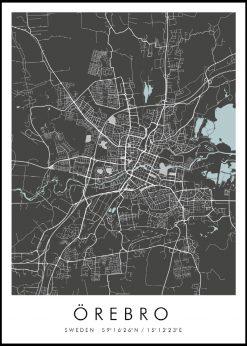 Map of Örebro nr.2