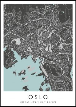 Map of Oslo nr.2