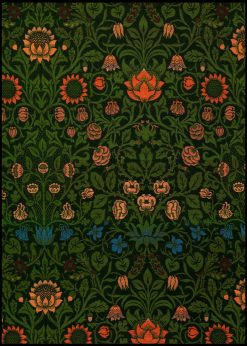 Violet and Columbine by William Morris nr.2