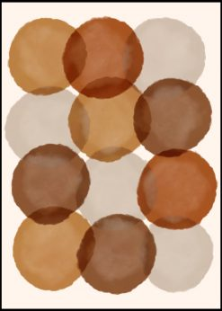 Earthy Colors Abstract nr.6