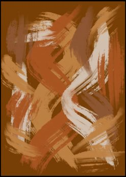 Earthy Colors Abstract nr.22