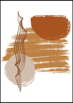 Earthy Colors Abstract nr.23