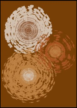 Earthy Colors Abstract nr.24
