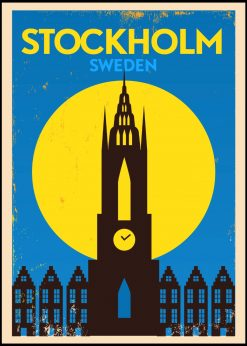 Stockholm Sweden Vintage City