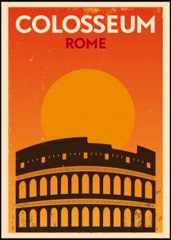 Colosseum Rome Vintage City