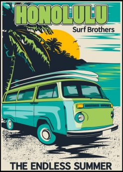 Honolulu the Endless Summer