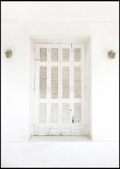 White Door on the French Riviera