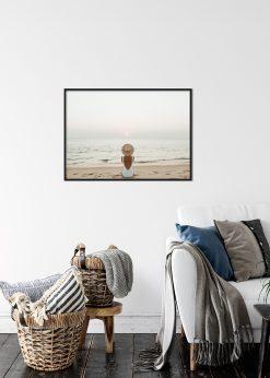 The Woman On The Beach