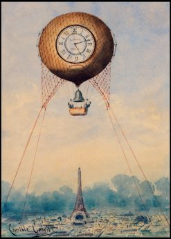 Balloon with Clock Face and Bell