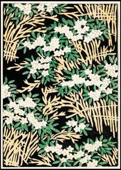 Japanese Flower Illustration