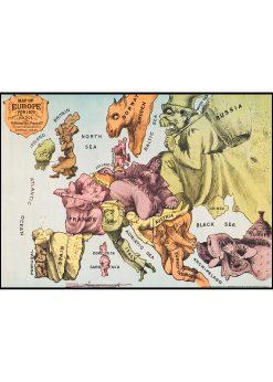War Map of Europe
