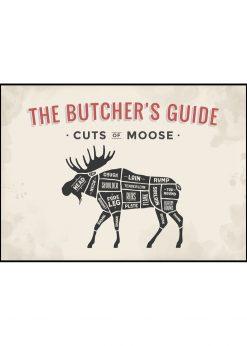 Butcher´s Guide Moose