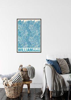 Blue Marigold by William Morris Design