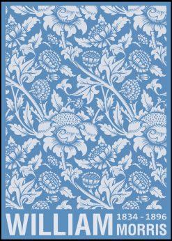 Chrysanthemum Flower by William Morris Design