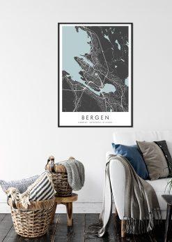 Map of Bergen nr.2