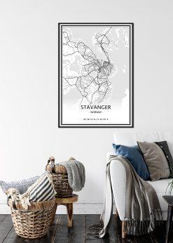Map of Stavanger nr.1