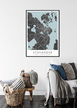 Map of Stavanger nr.2