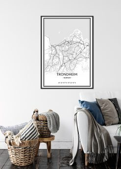Map of Trondheim nr.1