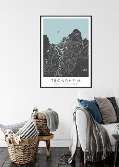Map of Trondheim nr.2
