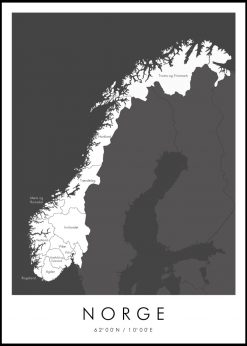 Map of Norge nr.1