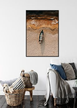 Canoe in the Sand