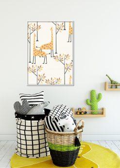 Off-White Giraffes Pattern