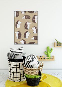 Light Brown Hedgehogs